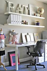 ikea for office. Unique Office Office And Home Decor Ideas AFTER Via Lilblueboocom Decor Office Diy Throughout Ikea For U