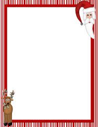 christmas free template free printable christmas stationary borders christmasstationery