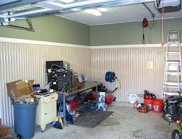 corrugated metal interior walls garage wall ideas black storage organization design wanted finish corrugated metal