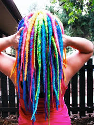 Image result for colored dreadlocks