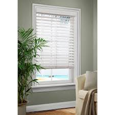 allen roth 25in white faux wood room darkening plantation blinds common and blinds l61