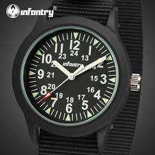 compare prices on tactical mens watch online shopping buy low infantry men quartz watches ultra thin nylon strap sport watches tactical luminous wristwatches aviator military relojes