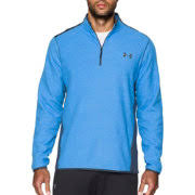 under armour 3 4 zip. under armour men\u0027s coldgear infrared quarter zip survival fleece long sleeve shirt 3 4 l