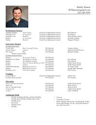 A Format Of A Resume Template For Resume Tbdw1lgd Yralaska Com