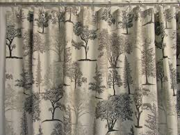 rustic cabin shower curtains curtain ideas rod graphite gray nature for measurements x count full size