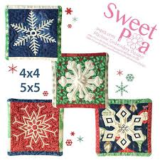 Machine Embroidery Patterns Delectable Winter Embroidery Patterns Designs Sweet Pea