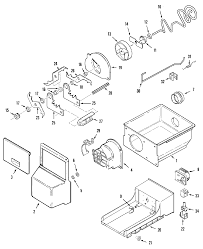 Whirlpool ice maker parts diagram fresh maytag side by side refrigerator parts model mzd2768geb