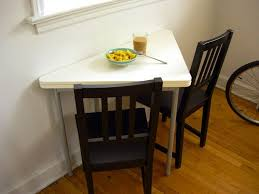 ... Home Decor Excellent Drop Leaf Dining Table For Small Spaces Photos  Design Is Alsoind Of 93 ...