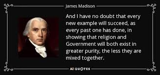 James Madison Quotes Christianity