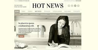 1800 Newspaper Template Hot News Bootstrap Newspaper Theme Gridgum