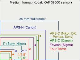 full frame vs aps c sensors for travel