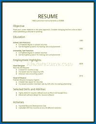 free resume templates samples resume for first job teenager first resume sample first job resumes