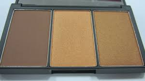 sleek makeup face form contouring and blush palette dark review
