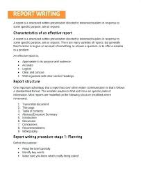 Engineering Report Format Template Download Free Sample Report