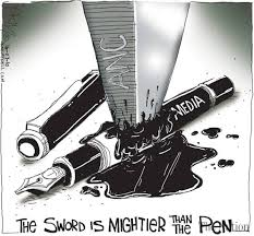 sword is mightier than the pen the sword is mightier than the pen