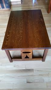 mission oak coffee table fresh mission coffee table finewoodworking