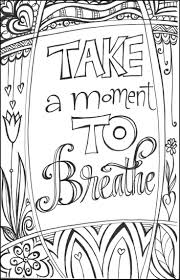 Zenspirations Gallery Meaningful Messages Coloring Pages