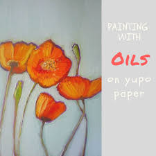 painting with oils on yupo paper by sandrine pelissier on artiful painting demos