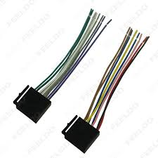 feeldo car accessories official store 1pcs car audio stereo wiring picture of 1pcs car audio stereo wiring harness for volkswagen audi mercedes pluging into