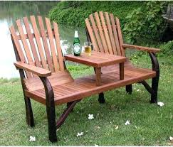 Wood Patio Bench Design Wooden Outdoor Metal Benches Impressive