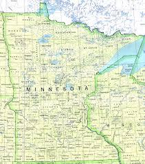 minnesota outline maps and map links