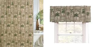 palm grove shower curtain and valance by crystal creek palm tree curtains alternative views palm tree