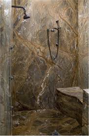 Granite Bathroom Tile Showers Slab Showers Can Be As Simple As Stone Tiles Or We Can