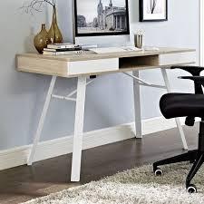 contemporary cubicle desk home desk design. Perfect Desk Modway Stir Writing Desk  AllModern Throughout Contemporary Cubicle Home Design A