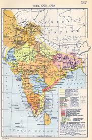 of india 1700 1792 India Map Before 1600 map of india 1700 1792 india map before 1600