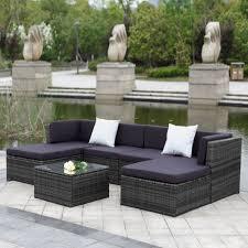amazoncom patio furniture. Great Portofino Patio Furniture Amazoncom Riviera Outdoor Wicker 6 Piece House Decorating Images
