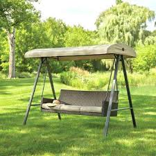 wood swings home depot 3 person wicker outdoor swing with canopy patio chair cushions home depot