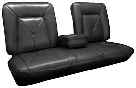 deville seat upholstery 1965 front split bench with armrest rear seat with armrest coupe