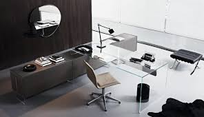 large glass office desk. Large Glass Office Desk E