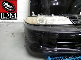 black acura integra jdm. 9401 honda acura integra black jdm front end conversion b18b stock 10057 black acura integra jdm