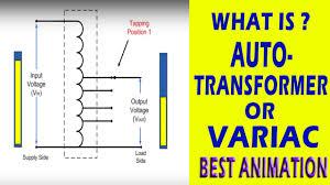 auto transformer youtube 3 phase auto transformer at Autotransformer Diagram