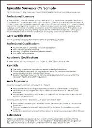 Good And Bad Resume Examples Quantity Surveyor Sample Good And Bad
