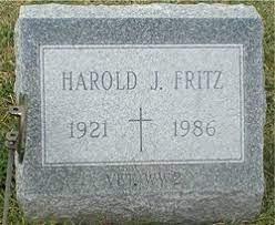 Harold J. Fritz (1922-1986) - Find A Grave Memorial