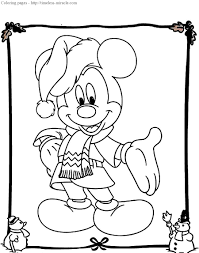 Small Picture Coloring Pages Mickey Christmas Coloring Pages Coloring Pages