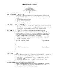 Resume Skill Examples List Bitacorita