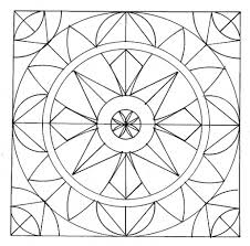 Geometric Patterns Coloring Pages Geometric Coloring
