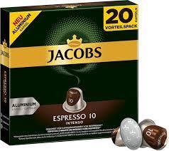 Jacobs Espresso 10 Intenso Kapseln ab 3,49 €