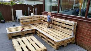outdoor pallet deck furniture. rustic whole pallet lsofa frame outdoor deck furniture r