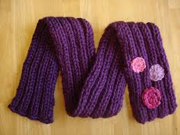 Child Scarf Knit Pattern