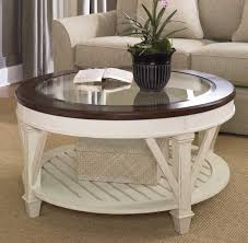 tremendous white coffee table with wood top amazing round starrkingschool antique distressed