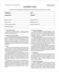Vehicle Lease Agreement Sample Lease Form Omfar Mcpgroup Co