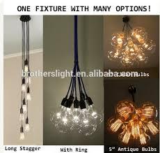 modern industrial lighting. 7 Cluster Custom Any Colors - Multi Pendant Chandelier Light Modern Industrial Lighting Ceiling Fixture Copper C