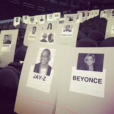 Musical Chairs Whos Seated Where At The 2014 Grammys Rap Up