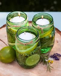 diy summer citronella candles outdoor candle centerpiece party