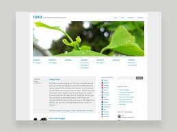 theme. Yoko WordPress Free Theme