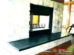 brick fireplace hearth ideas granite best on mantel white decor ide